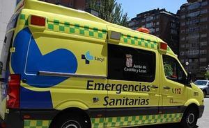 Dos accidentes dejan sendos heridos en la provincia de Burgos