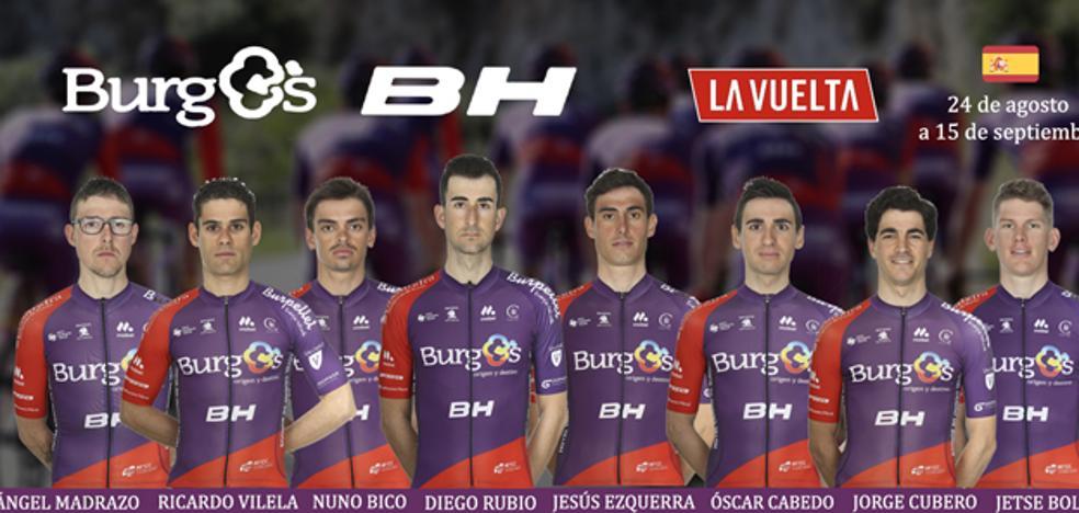 El Burgos BH presenta su equipo para la Vuelta a España