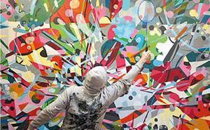 Los muralistas holandeses Telmo Miel y el grafitero francés NKDM acercarán el arte urbanointernacional a Burgos