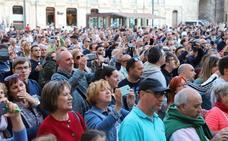 Presentación del Burgos CF en la plaza del Rey San Fernando
