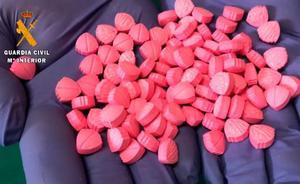Detenida una burgalesa que escondía un centenar de pastillas de éxtasis en una axila