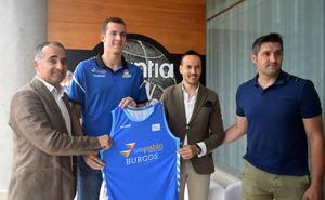 Salvó: «Todo jugador desea jugar en el San Pablo Burgos»