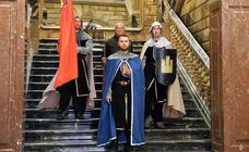 Fernando I llama a los burgaleses a batallar contra García III