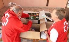 Imágenes de la marcha solidaria en favor de la Cruz Roja en Agés y Santovenia de Oca