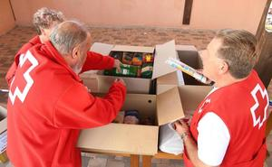 Más de 200 personas se solidarizan con la Cruz Roja en una marcha entre Agés y Santovenia