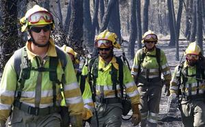 UGT desconfía de la promesa de Mañueco de mejorar las condiciones a los trabajadores del operativo de incendios