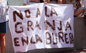 Retoman las movilizaciones contra la macrogranja de Llano de Bureba
