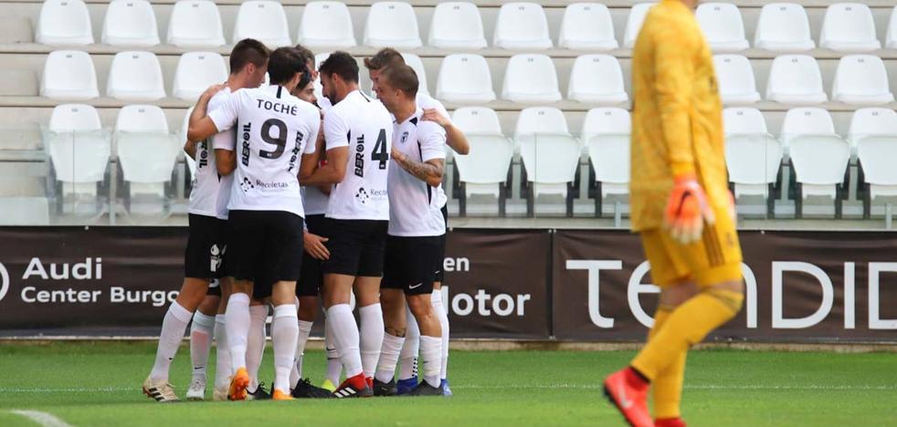 El Burgos CF, «convencido» de inciar con buen pie la temporada de la «ilusion»