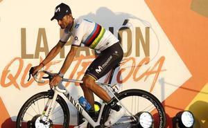 Lucha muy incierta entre los aspirantes al maillot rojo de la Vuelta