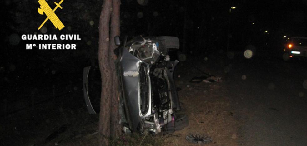 Investigan a un conductor de un vehículo accidentado en Burgos por conducir bajo los efectos del alcohol