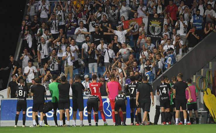 Las mejores imágenes del Sanse - Burgos CF