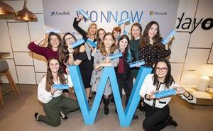 Un total de 18 alumnas de grados STEM de Castilla y León participan en los Premios WONNOW