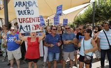 Más de dos mil personas solicitan en Aranda la Autovía del Duero (1/2)