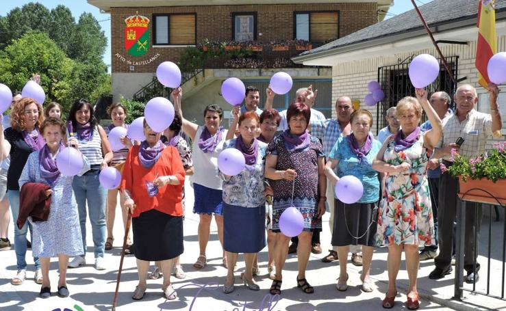 Pueblos burgaleses por la igualdad y contra la violencia de género
