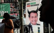 Bolsonaro aceptará la ayuda externa para los incendios en el Amazonas si puede decidir cómo usarla