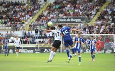 Los jugadores del Burgos CF a examen