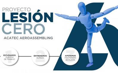 Aciturri inicia el proyecto 'Lesión CERO' en Acatec Aeroassembling