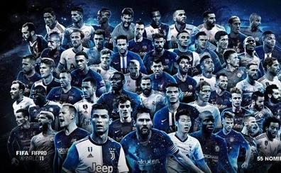 Barcelona y Real Madrid, equipos con más aspirantes al 11 del año
