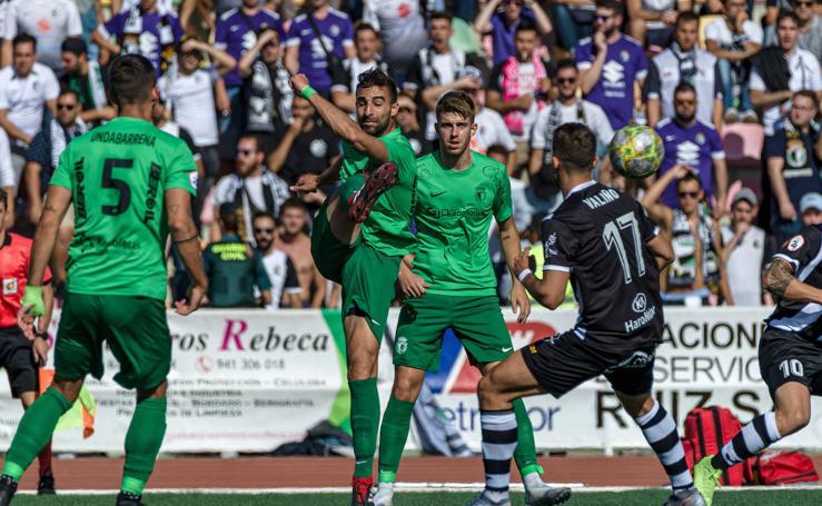 El Burgos no pasa del empate en su visita a Haro