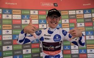 Madrazo pierde el liderato de la montaña, pero gana el Premio a la Combatividad de la decimosexta etapa