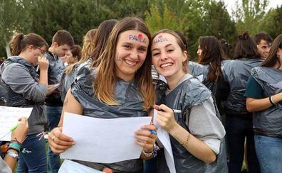 Novatadas de bienvenida en la Universidad de Burgos