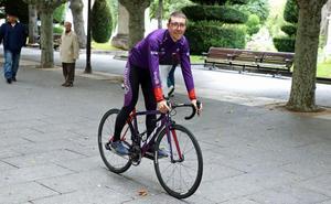 Ángel Madrazo confía en sus posibilidades de ganar el maillot de la montaña