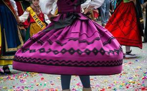 23 grupos de danzas participan este fin de semana en la Muestra Provincial de Bailes Burgaleses