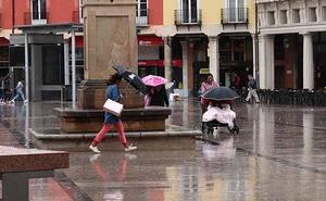 Vuelve a llover en Burgos tras 15 días secos
