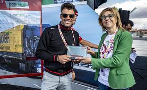 El ganador de la etapa 17 de 'La Vuelta 19' recibirá un trofeo de vidrio reciclado por los vecinos de Aranda de Duero