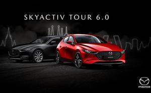Burgos acoge la sexta edición del Mazda Skyactiv Tour