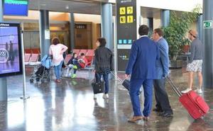 Un 94,5% más de pasajeros han hecho uso del aeropuerto de Burgos en lo que va de 2019 con respecto al año anterior