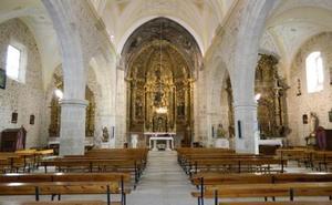 Vadocondes logra reunir dinero para restaurar el retablo mayor y otras obras de arte de la iglesia