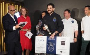 El cocinero burgalés Alejandro Serrano, proclamado Chef Balfegó 2019