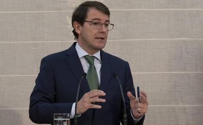 Mañueco pide al Gobierno que «coordine medidas» para «garantizar el recambio generacional médico»
