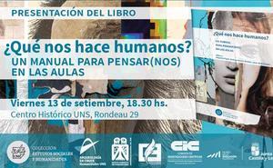 El MEH colabora en la elaboración del libro 'Qué nos hace humanos', que servirá de manual en las aulas argentinas
