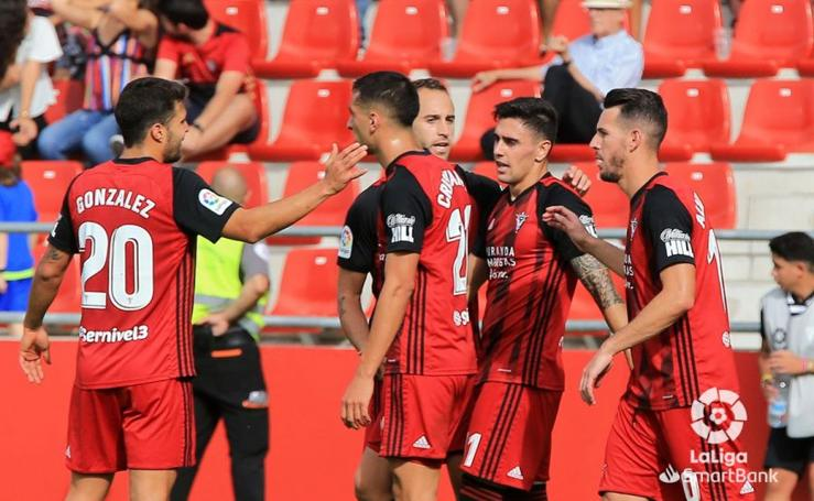 El Mirandés y el Málaga consiguen un empate en un partido sin ocasiones