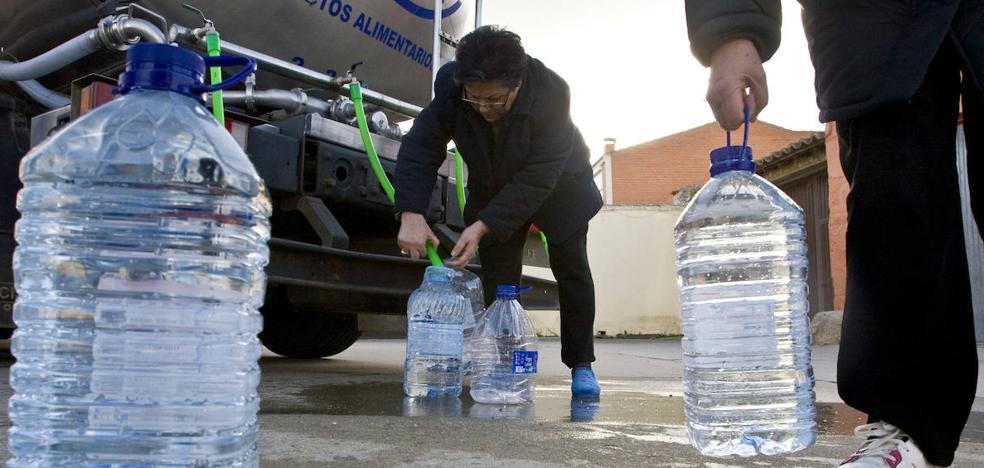 36 localidades burgalesas han necesitado abastecimiento de agua mediante camiones cisterna