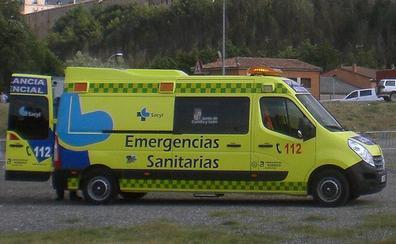 Muere un joven y otro resulta herido en un accidente de tráfico en Quintana Martín Galíndez