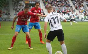 Valora a los jugadores del Burgos CF en la primera derrota de la temporada ante el Calahorra