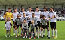 Las mejores imágenes del partido entre Burgos CF y CD Calahorra