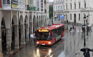 La lluvia dificulta la circulación por las carreteras burgalesas