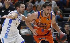Imágenes del Trofeu Ciutat de València, disputado entre Valencia Basket y San Pablo Burgos