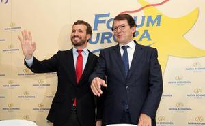 Mañueco, partidario de «no tocar» las listas en la región si hay elecciones