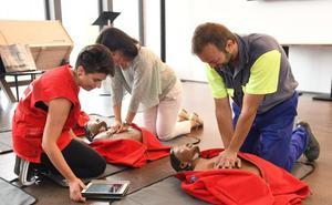 Objetivo RCP de Cruz Roja se extiende por la provincia de Burgos
