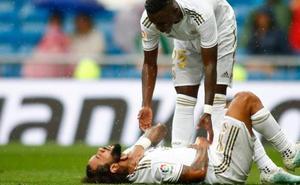 Marcelo, baja ante el PSG