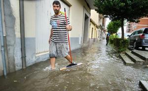 Una tormenta de granizo obliga a los bomberos de Ciudad Rodrigo a salir diez veces en una hora