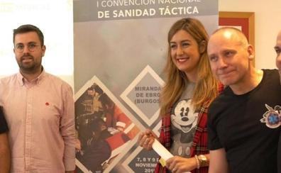 Miranda de Ebro acogerá la I Convención de Sanidad Táctica, organizada por la Sociedad Española de Medicina de Urgencias y Emergencias