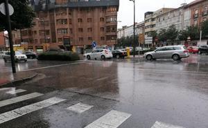 Avisos de fuertes lluvias y tormentas en Burgos, que pueden descargar hasta 15 litros por metro cuadrado en una hora