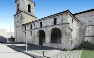 La Diputación confía en que el entorno de la colegiata de Valpuesta esté urbanizado en primavera