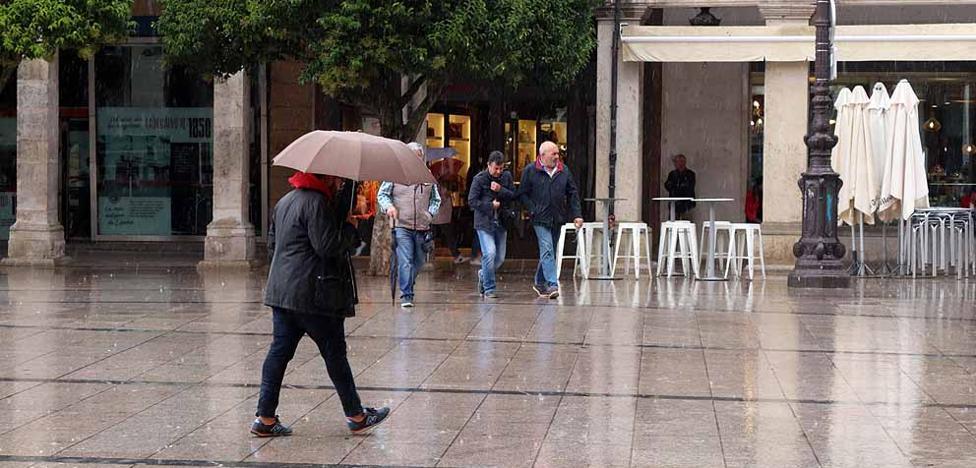 La Aemet advierte en Burgos de tormentas similares a la sufrida el martes en Valladolid